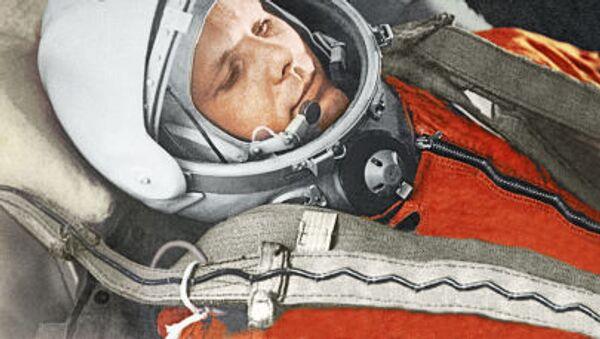 Radziecki kosmonauta, pierwszy człowiek w przestrzeni kosmicznej Jurij Gagarin - Sputnik Polska