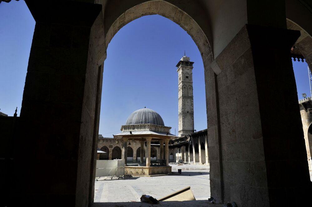 Meczet Umajjadów w Aleppo