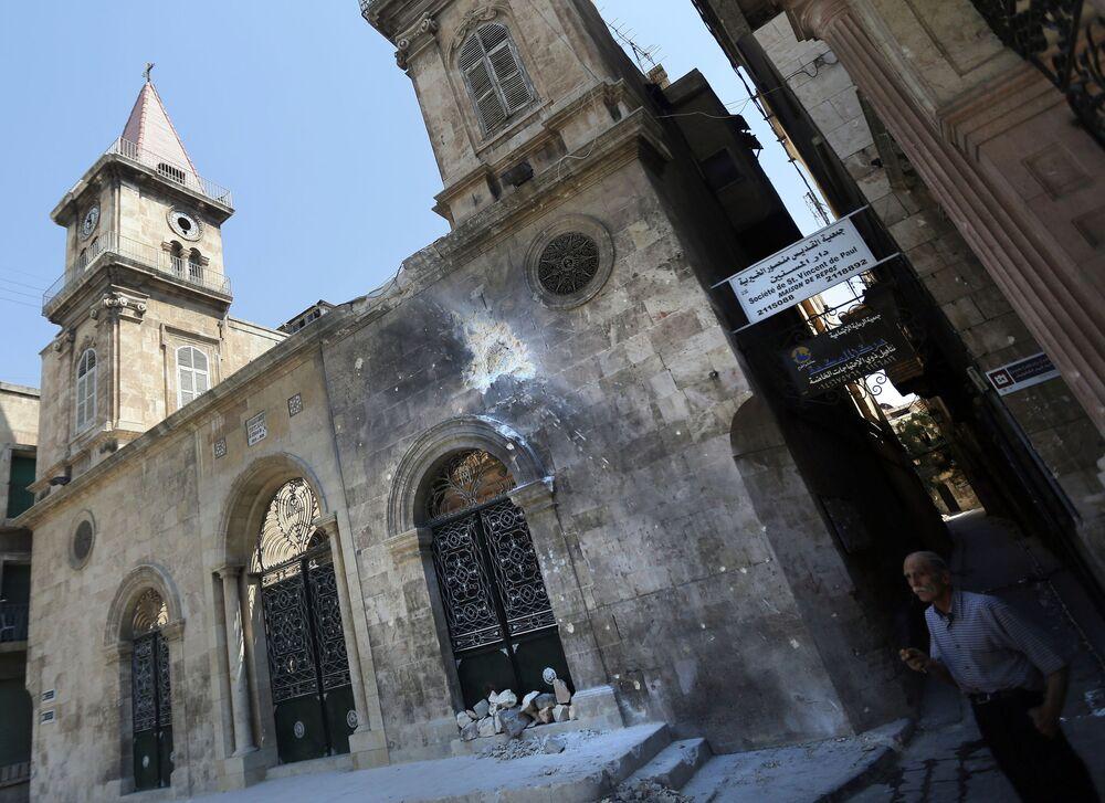Kościół maronicki w mieście Aleppo