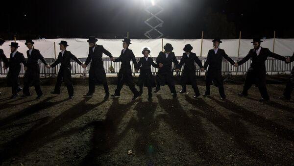 Tradycyjny żydowski ślub w Netanji - Sputnik Polska