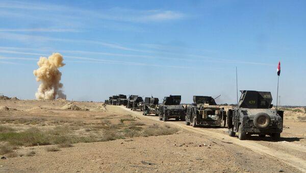 Irackie służby bezpieczeństwa w prowincji Anbar - Sputnik Polska