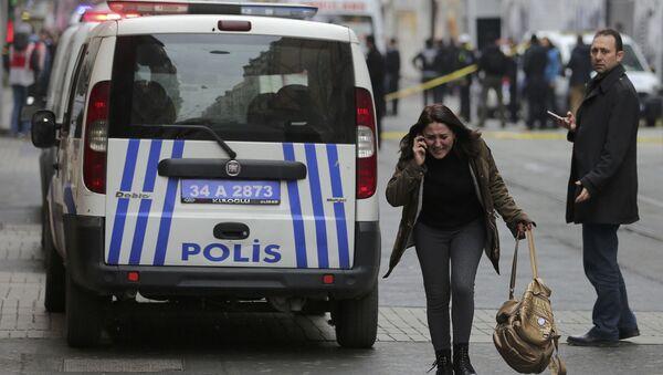 Zamach w Stambule - Sputnik Polska