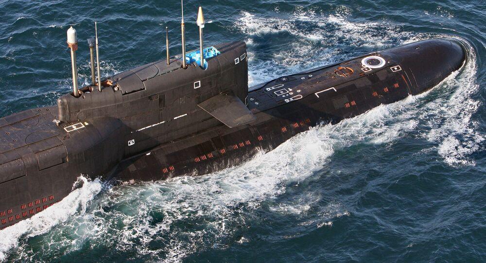 Rakietowy okręt podwodny