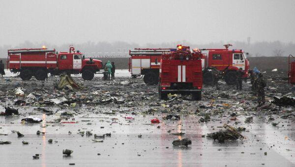Katastrofa lotnicza w Rostowie nad Donem - Sputnik Polska
