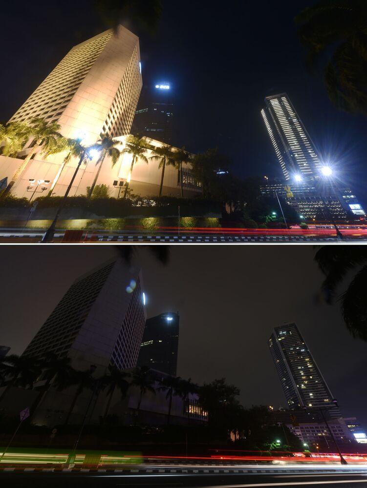 Dzielnica biznesowa w Dżakarcie