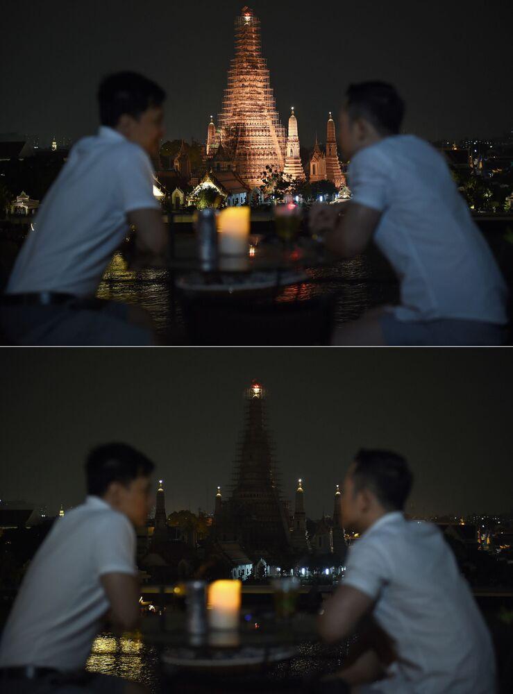 Świątynia buddyjska Wat Arun w Bangkoku (Tajlandia)