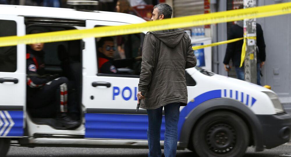 Samobójczy zamach w Stambule