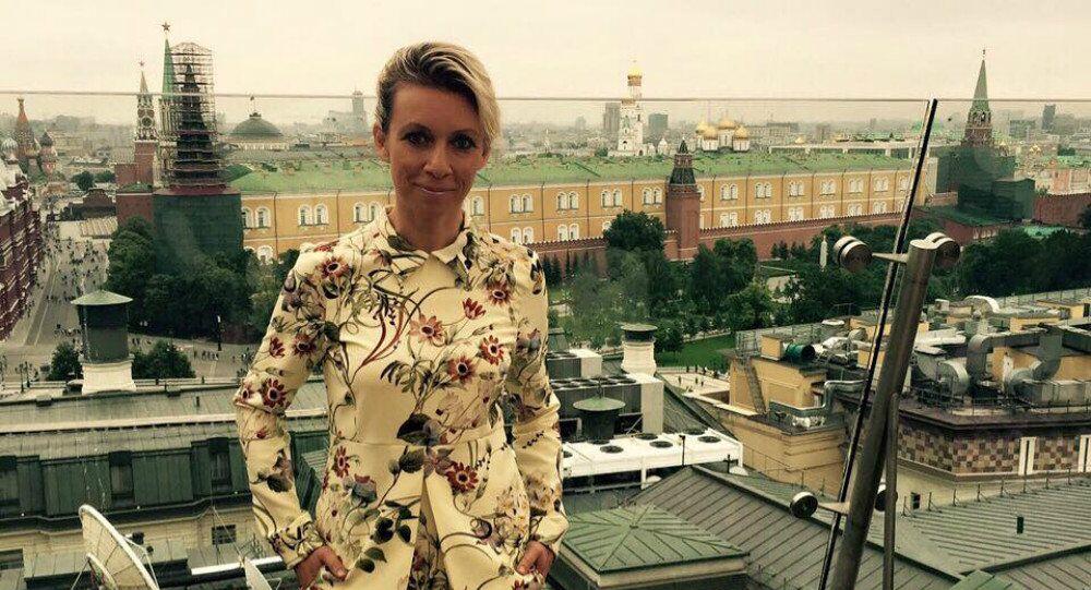 Reczniczka rosyjskiego MSZ Maria Zacharowa