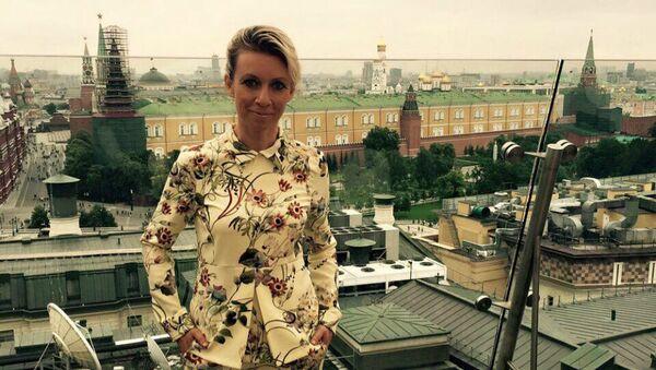 Reczniczka rosyjskiego MSZ Maria Zacharowa - Sputnik Polska