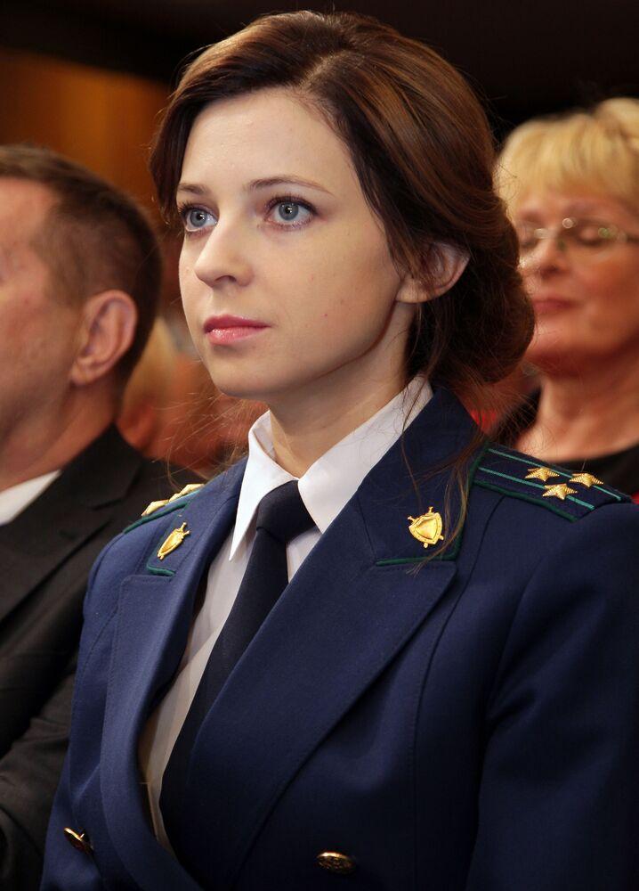 Prokurator Krymu Natalia Pokłońska w Symferopolu