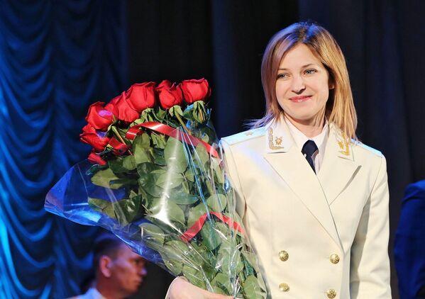 Prokurator Krymu Natalia Pokłońska w Symferopolu - Sputnik Polska