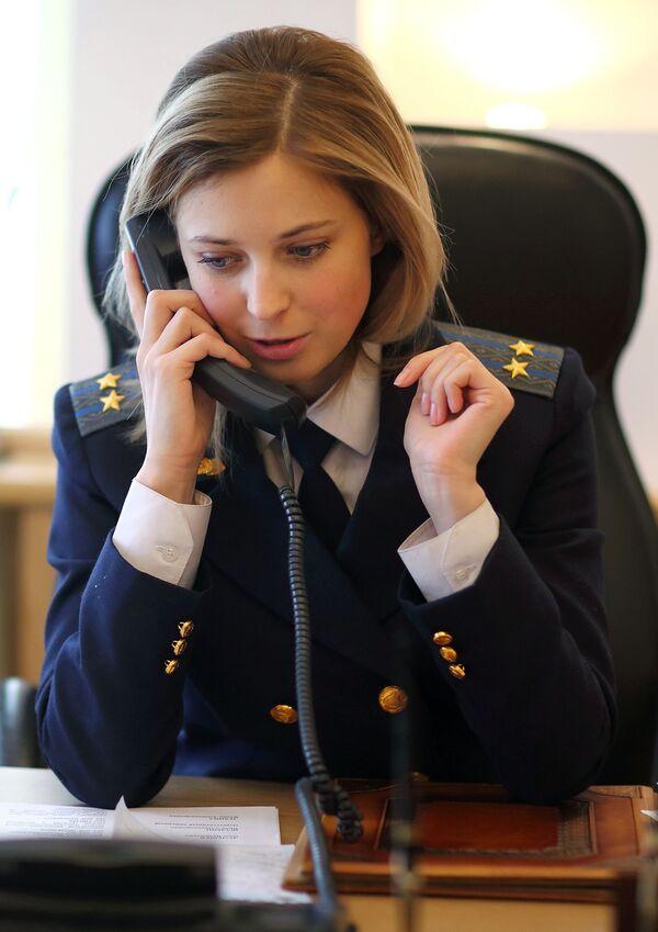 Prokurator Krymu Natalia Pokłońska - Sputnik Polska