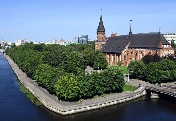 Katedra św. Wojciecha i Najświętszej Marii Panny w Kaliningradzie - Sputnik Polska