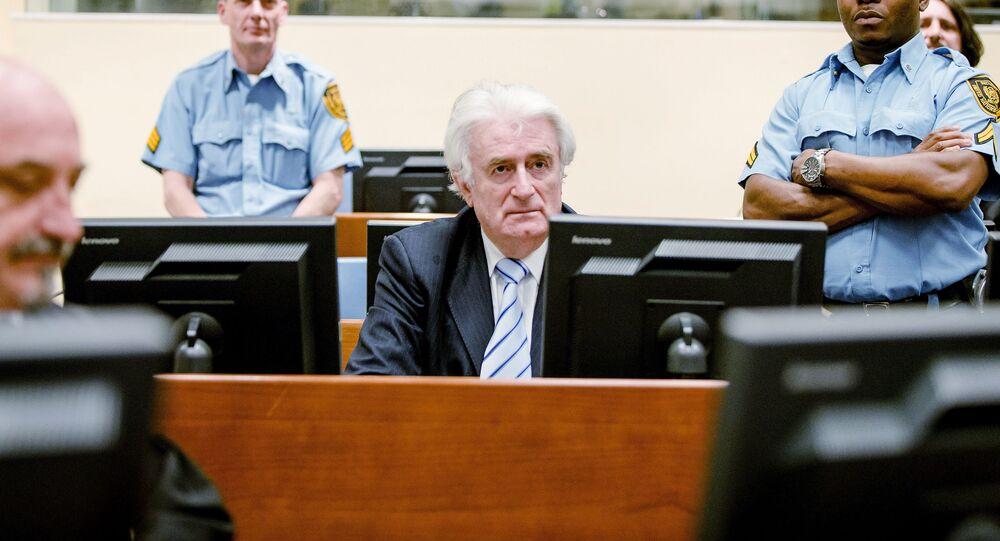 Były przywódca bośniackich Serbów Radovan Karadzić.