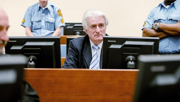 Były przywódca bośniackich Serbów Radovan Karadzić - Sputnik Polska