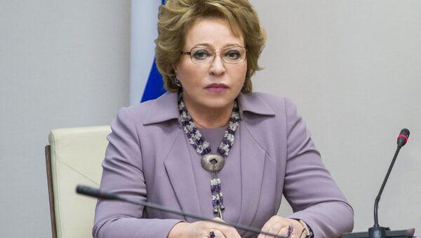 Przewodnicząca Rady Federacji Walentina Matwijenko - Sputnik Polska