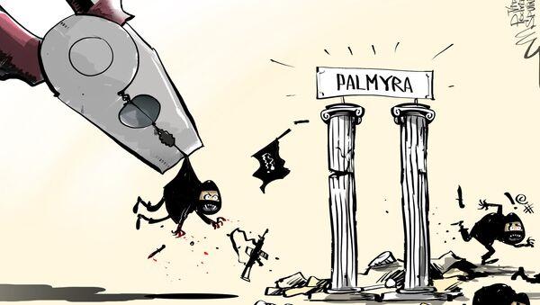 Syryjska armia wyzwoliła Palmyrę - Sputnik Polska