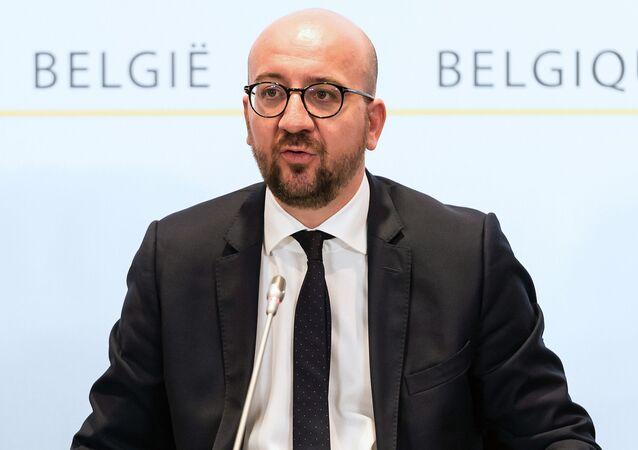 Premier Belgii Charles Michel