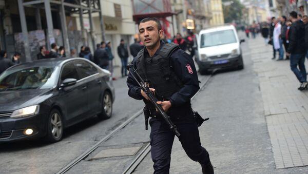 Atak terrorystyczny w Stambule - Sputnik Polska