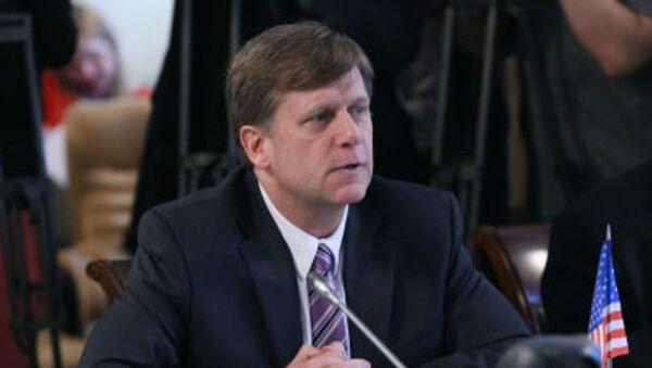 Były ambasador Stanów Zjednoczonych w Moskwie Michael McFaul - Sputnik Polska