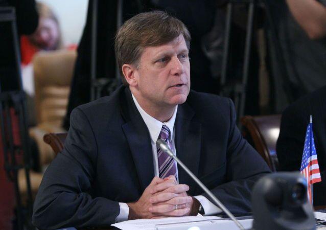 Były ambasador Stanów Zjednoczonych w Moskwie Michael McFaul