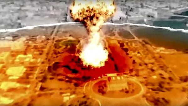 Symulowany atak nuklearny KRLD na Stany Zjednoczone - Sputnik Polska