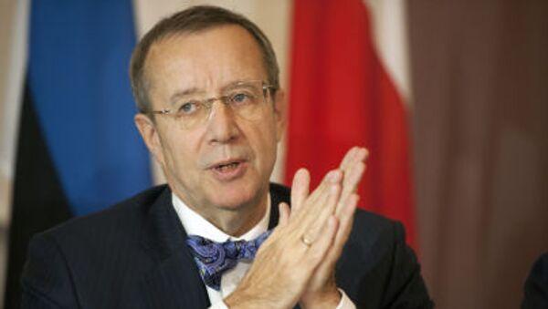 Prezydent Estonii Toomas Hendrik Ilves - Sputnik Polska