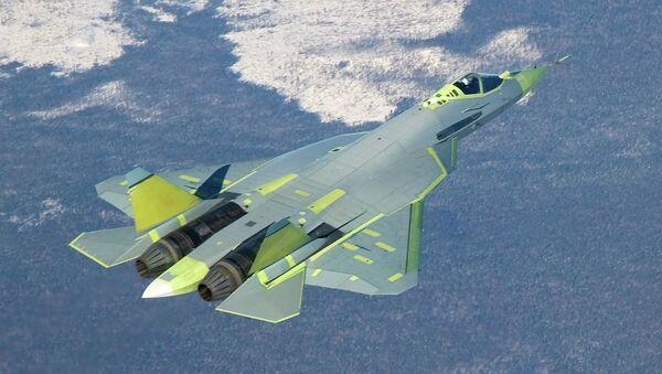 Rosyjski myśliwiec T-50 (PAK FA) - Sputnik Polska