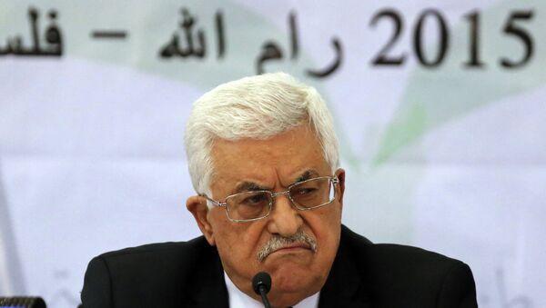 Prezydent Palestyny Mahmud Abbas - Sputnik Polska