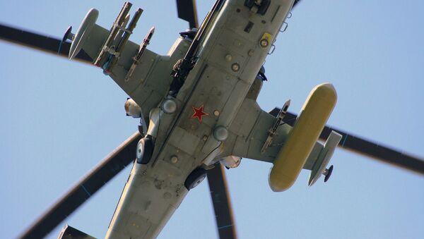Rosyjski śmigłowiec uderzeniowy Ka-52 - Sputnik Polska