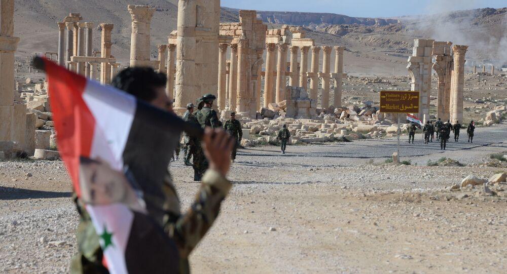 Historyczna część Palmyry