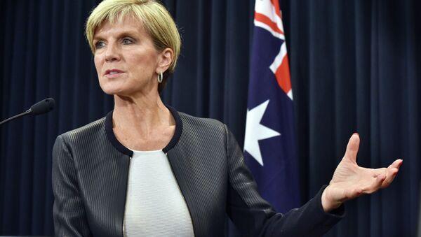 Australian Foreign Minister Julie Bishop - Sputnik Polska