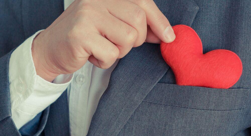 Mężczyzna, serce