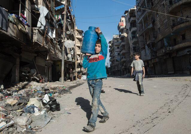 Mieszkańcy  Aleppo