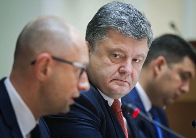 Petro Poroszenko i Arsenij Jaceniuk