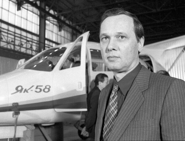 Główny konstruktor samolotu Jak-58 Sergiej Jakowlew - Sputnik Polska