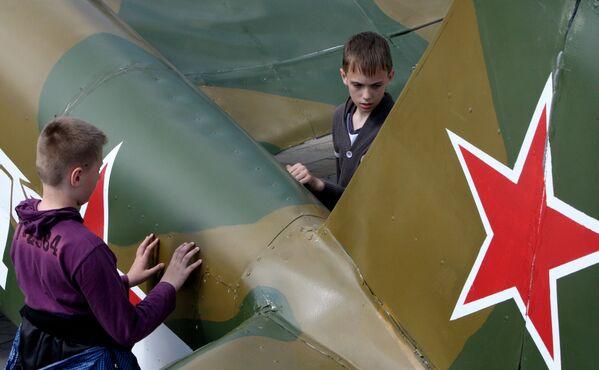 Model samolotu Jak-3 we Władywostoku - Sputnik Polska