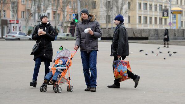 Życie codzienne w Doniecku - Sputnik Polska