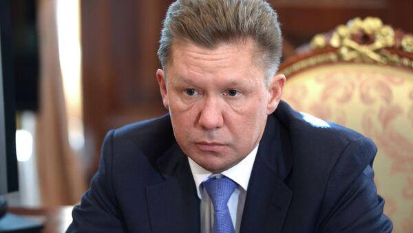 Szef Gazpromu Aleksiej Miller - Sputnik Polska