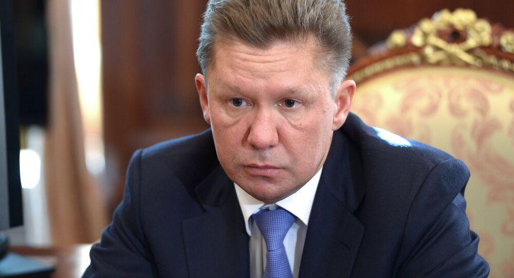 Szef Gazpromu Aleksiej Miller