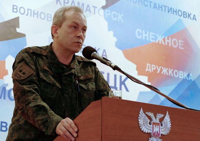 Zastępca dowódcy korpusu Ministerstwa Obrony DRL Eduard Basurin