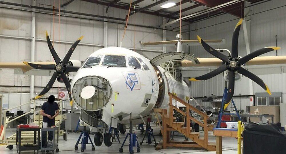 Amerykański samolot wywiadowczy ATR 42-500