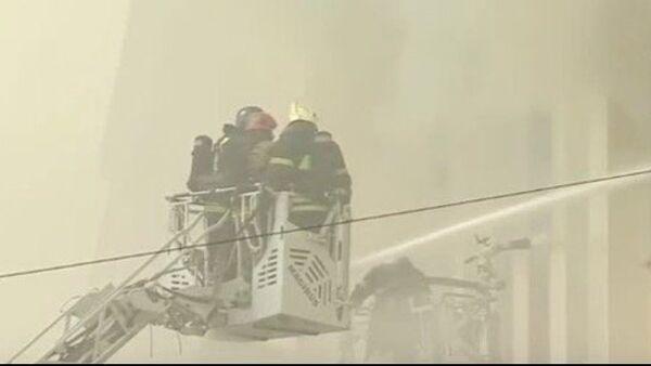 Pożar w MO Rosji - Sputnik Polska