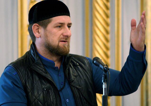 Szef Czeczenii Ramzan Kadyrow