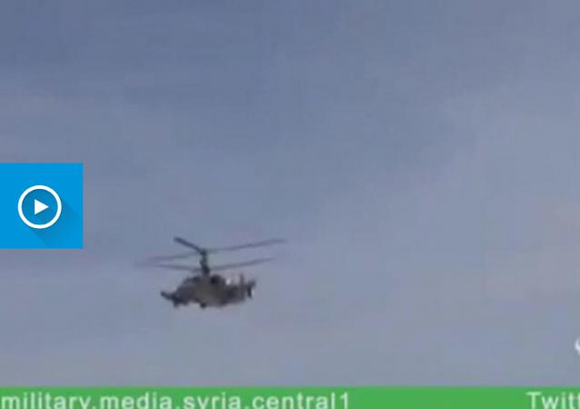 """Praca rosyjskich """"aligatorów"""" w Syrii trafiła na YouTube"""