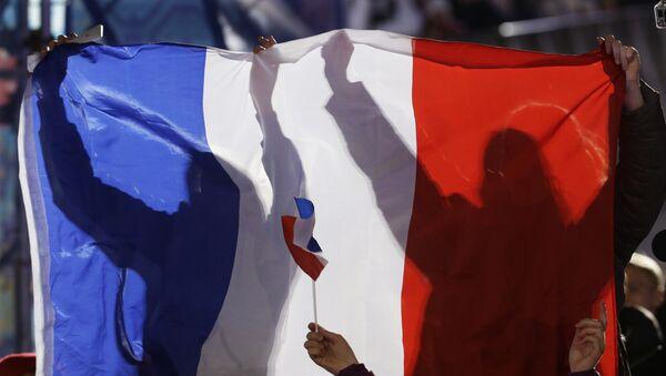 Francuska flaga - Sputnik Polska