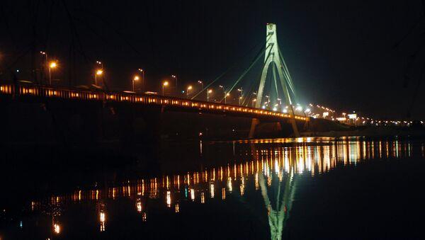 Most Moskiewski na Dnieprze w Kijowie - Sputnik Polska