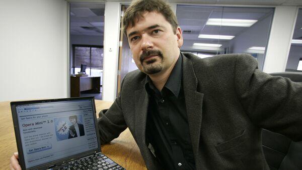 Założyciel i były szef Opera Software Jon von Tetzchner - Sputnik Polska
