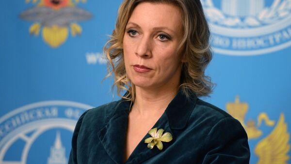 Briefing rzeczniczki MSZ Rosji Marii Zacharowej - Sputnik Polska
