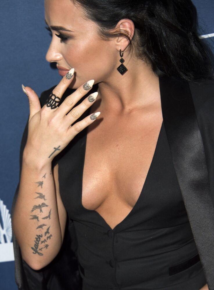 Amerykańska aktorka Demi Lovato